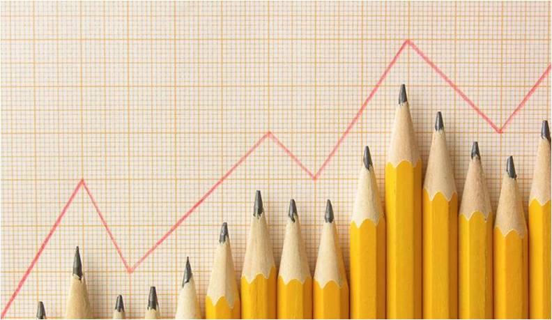 Pencil Line Chart